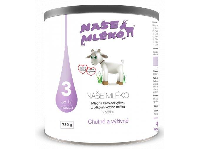 mleko 3 bez prichute