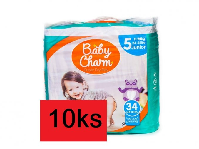 81 baby charm super dry flex vel 5 junior 5x