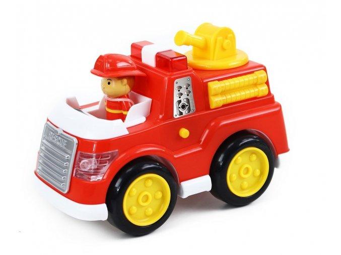 auto hasiči se zvukem a světlem