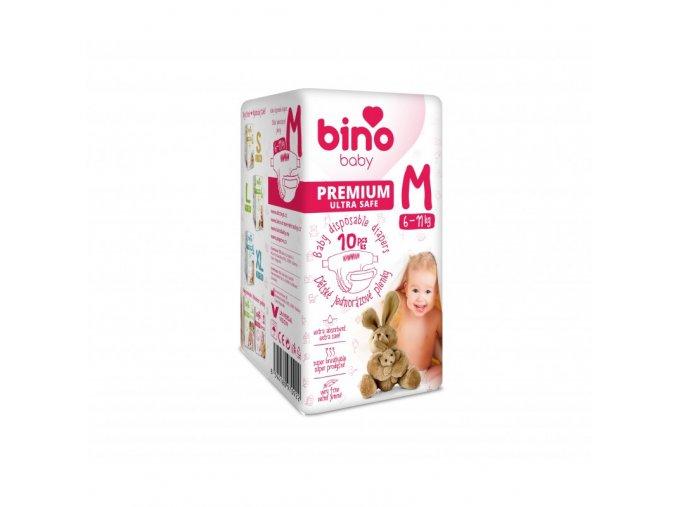 bino baby premium detske pleny m 6 11 kg 10 ks cz