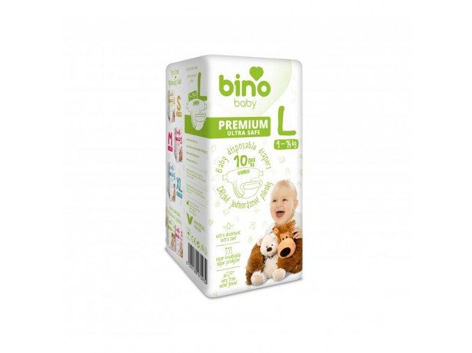 bino baby premium l 9 14 kg detske pleny 10 ks cz