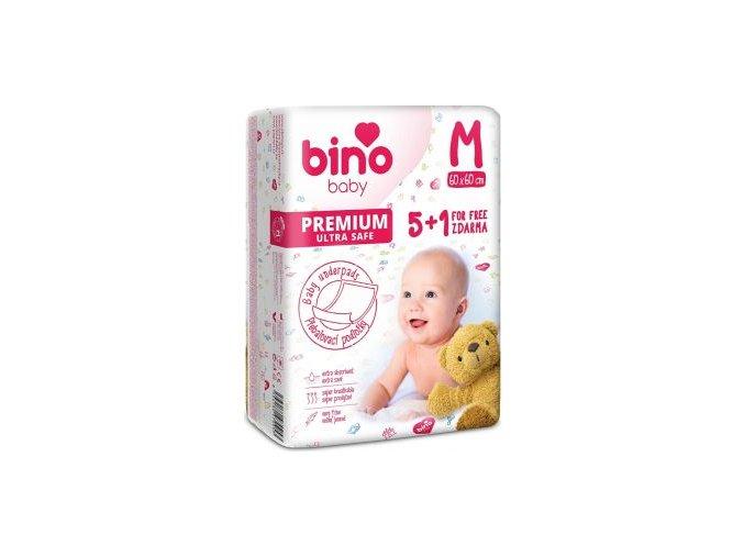 bino baby prebalovaci podlozky 6 ks 60 x 90 cm cz