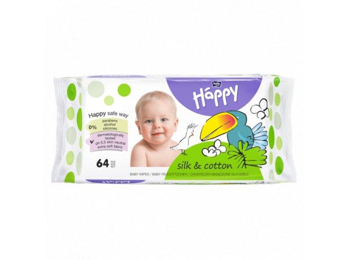 Bella Baby Happy hedvábí a bavlna 64 ks