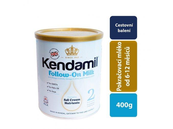 kendamil 2 pokracovaci mleko 400 g