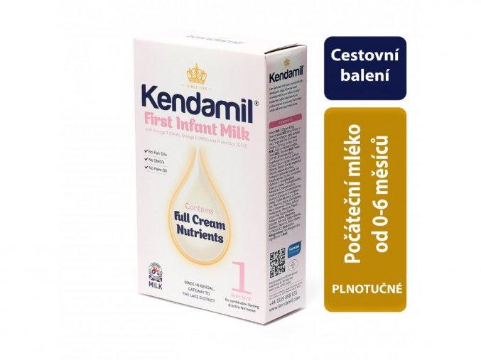 Kendamil kojenecké mléko 1 (150 G) cestovní testovací balení