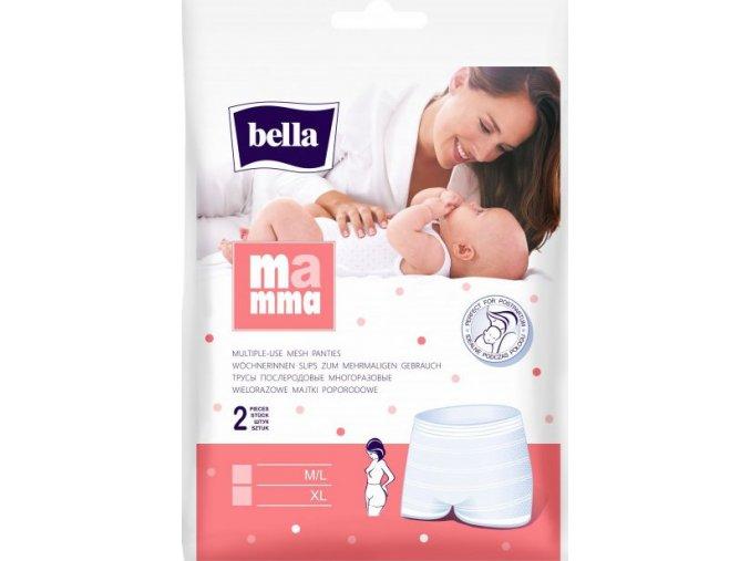 Bella Mamma síťované kalhotky M L (2ks)