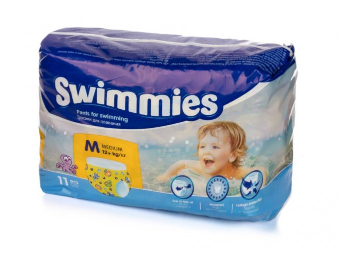 Swimmies M 12+ kg, 11ks