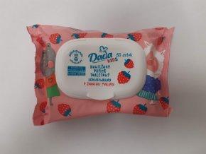 Dada vlhčený toaletní papír 60ks - malina
