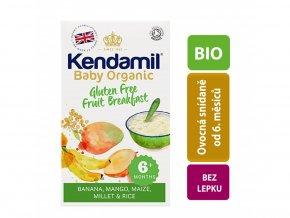 Kendamil BIO Organická dětská bezlepková ovocná kaše (150g)