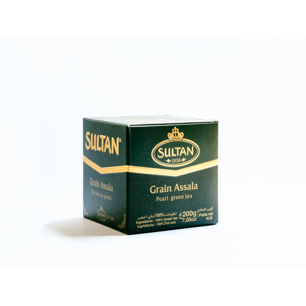 Sultan - Grain Assala - gunpowder 200g