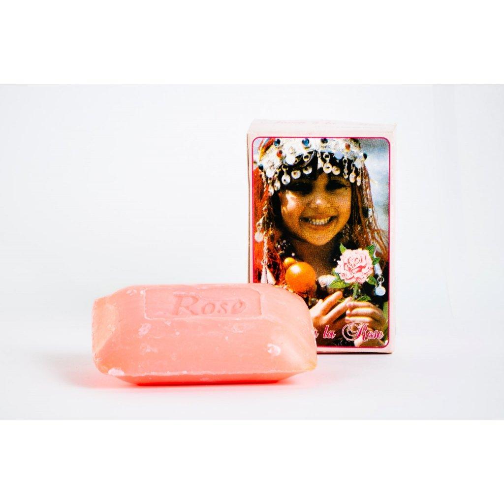 Růžové mýdlo 60g