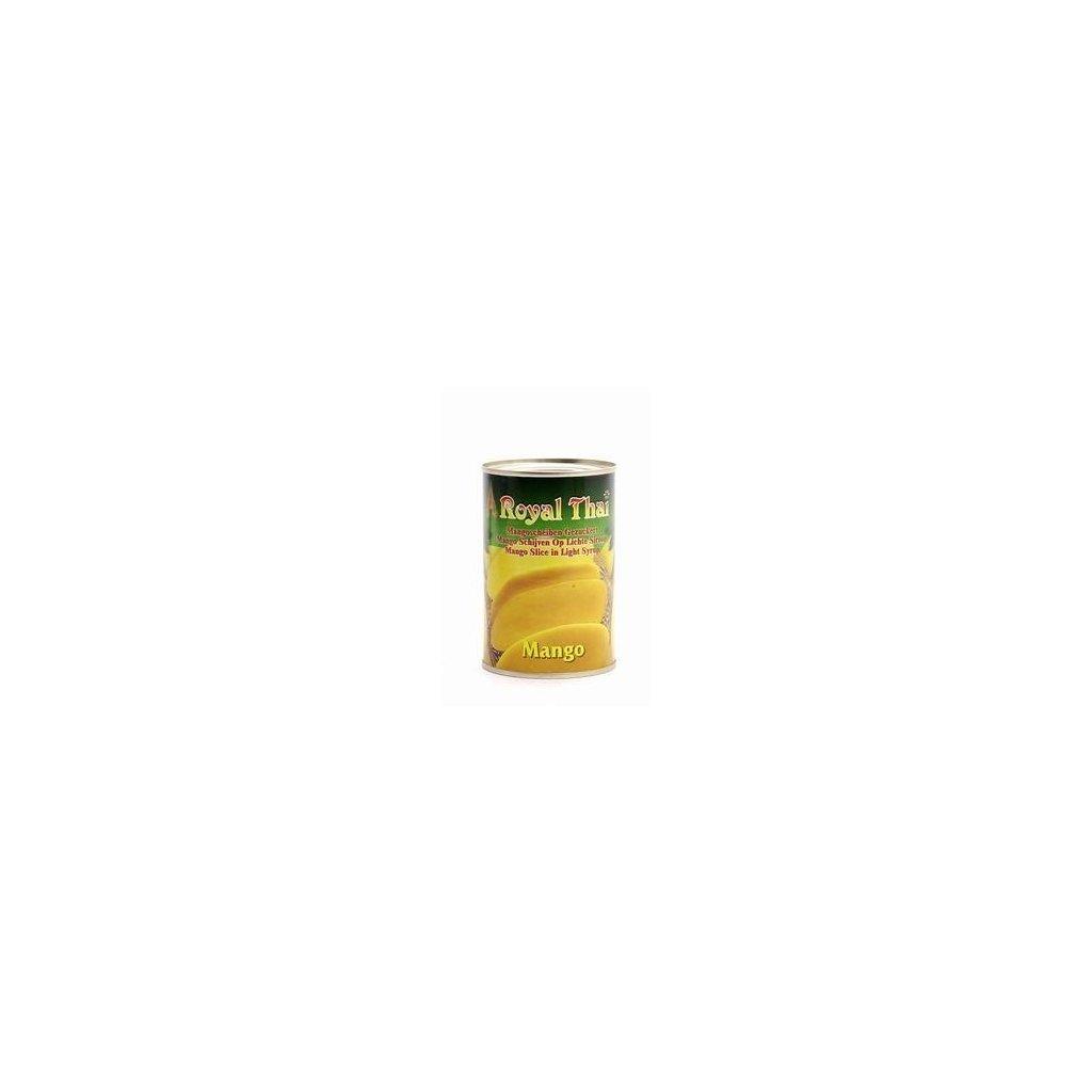 Mango v sirupu - kompot 425 g (z toho pevného podílu 230 g)