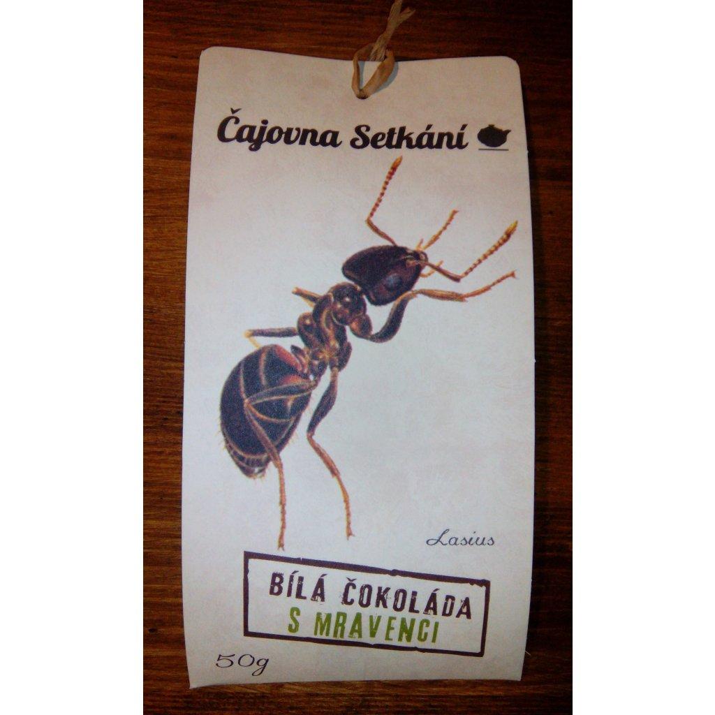 Čokoláda s mravenci - 50g