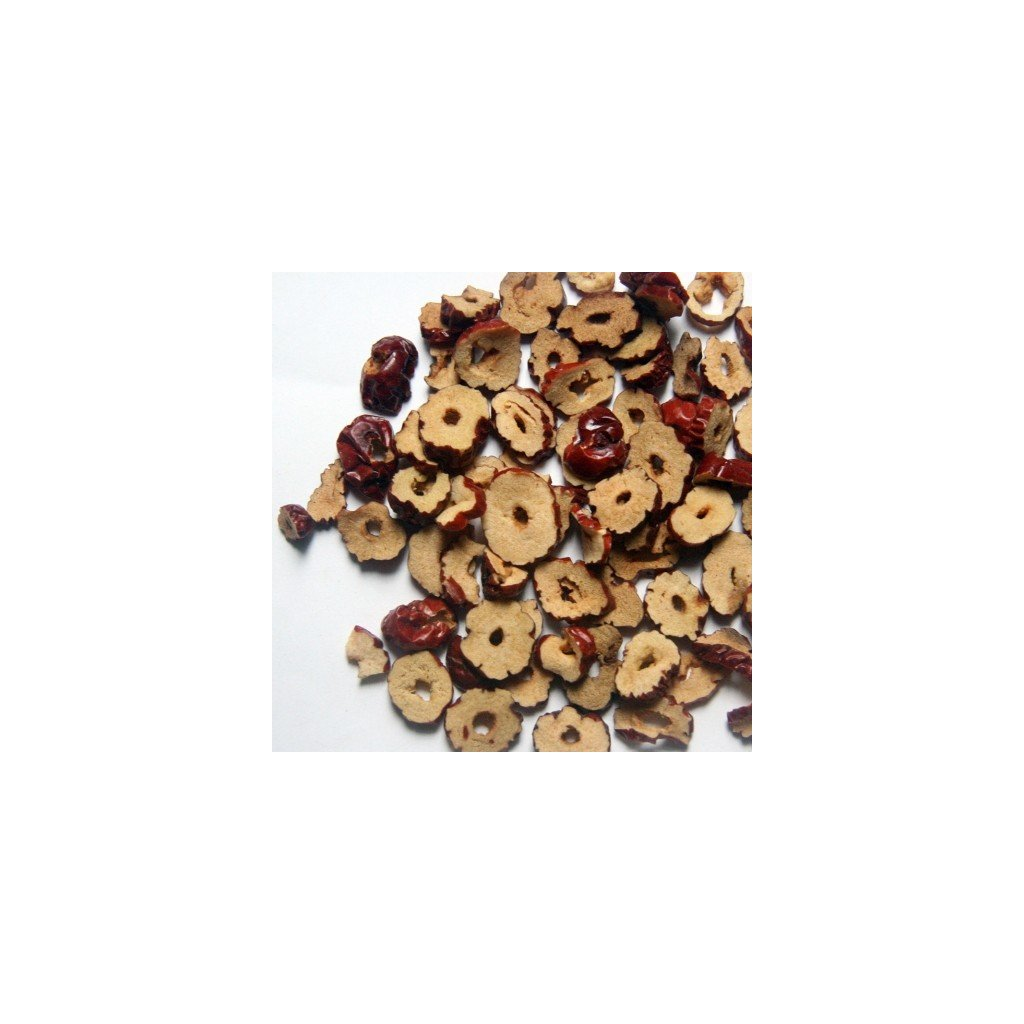 Cicimek čínský - Ziziphus jujuba - sušený plod krájený - 50g