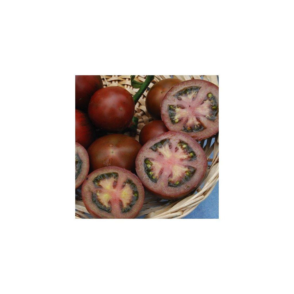 Rajče tyčkové černé Black Russian - semena rajčat 10 ks