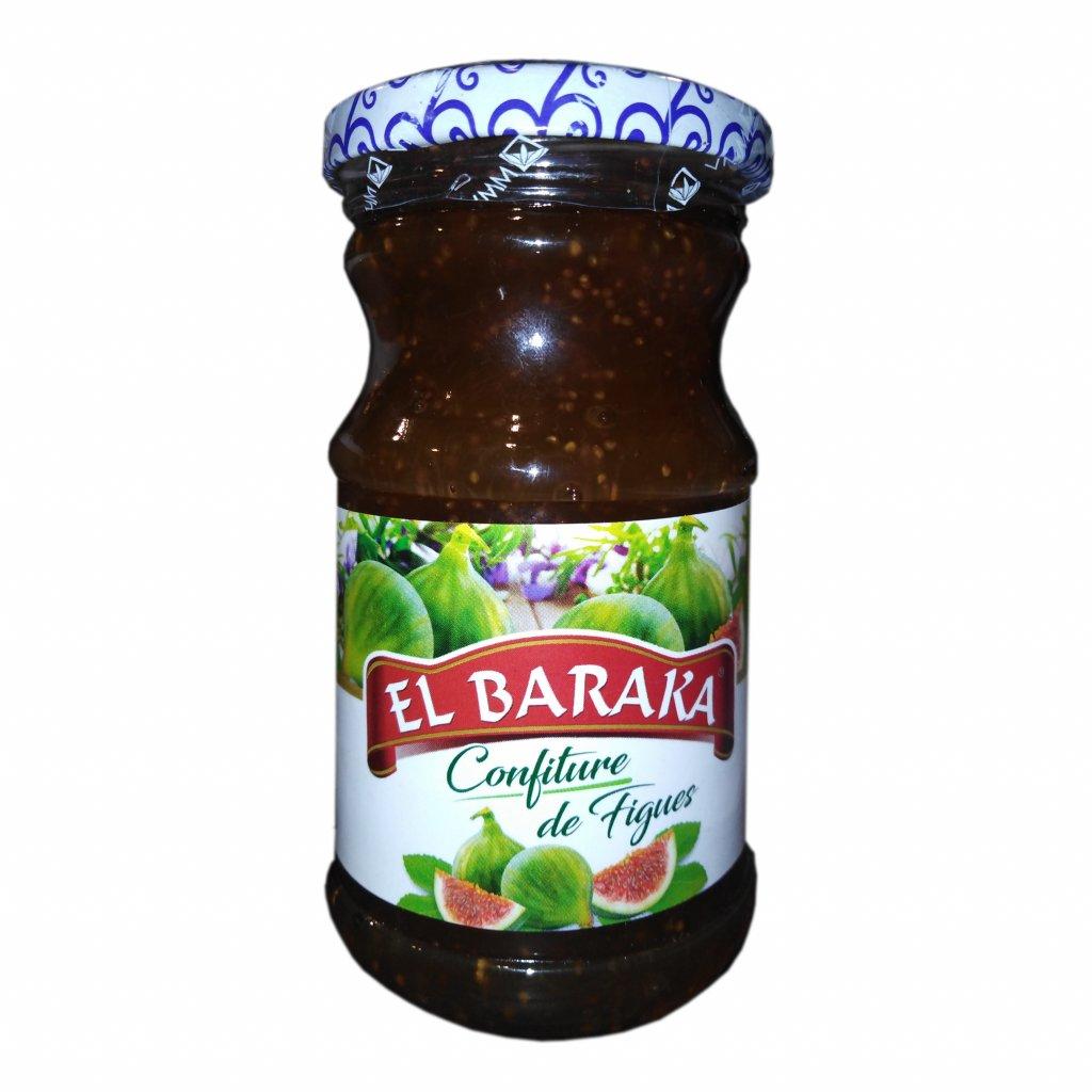 Marocký fíkový džem El Baraka 240g
