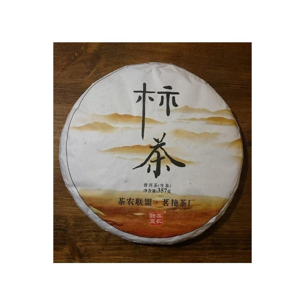 Pralesní Pu Erh Sheng Tea Farmers 2015 - 357g