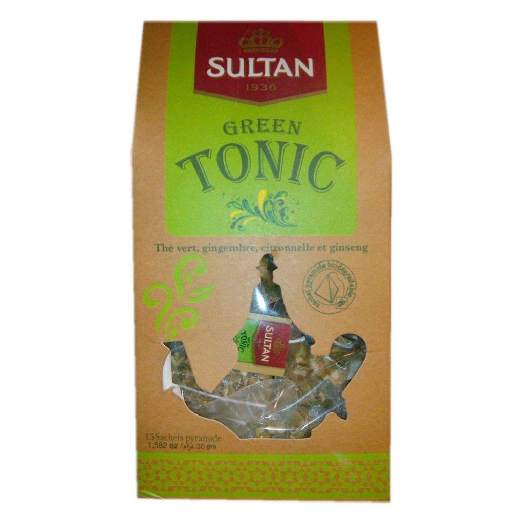 Sultan Green Tonic - 15 sáčků