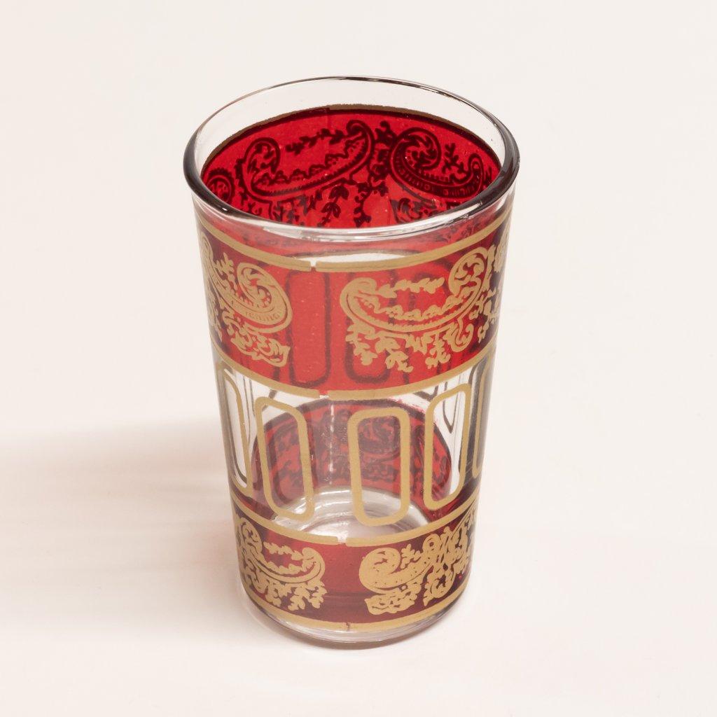Marocká zdobená sklenička - typ A 1ks
