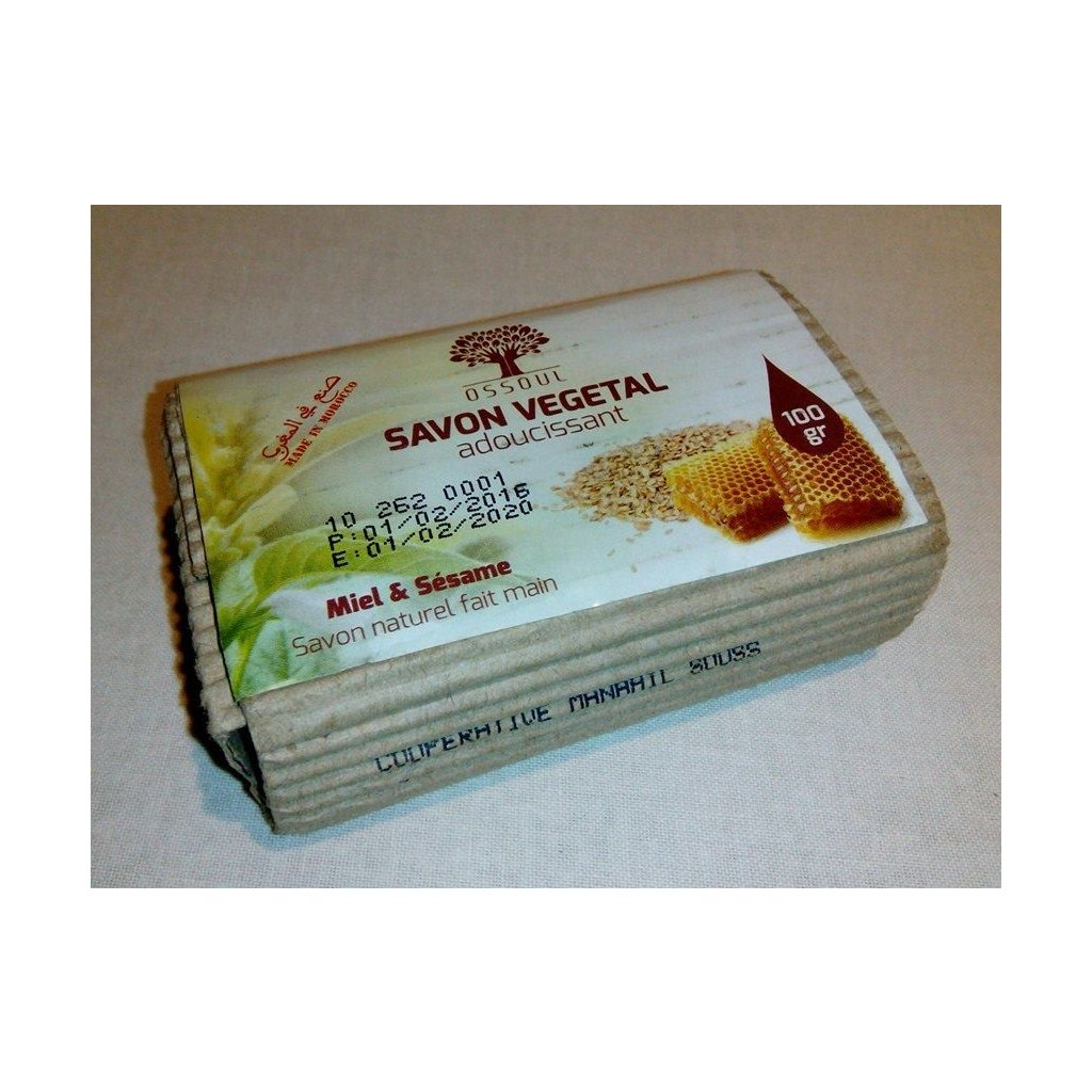 Bio mýdlo - medovo-sezamové - 80g