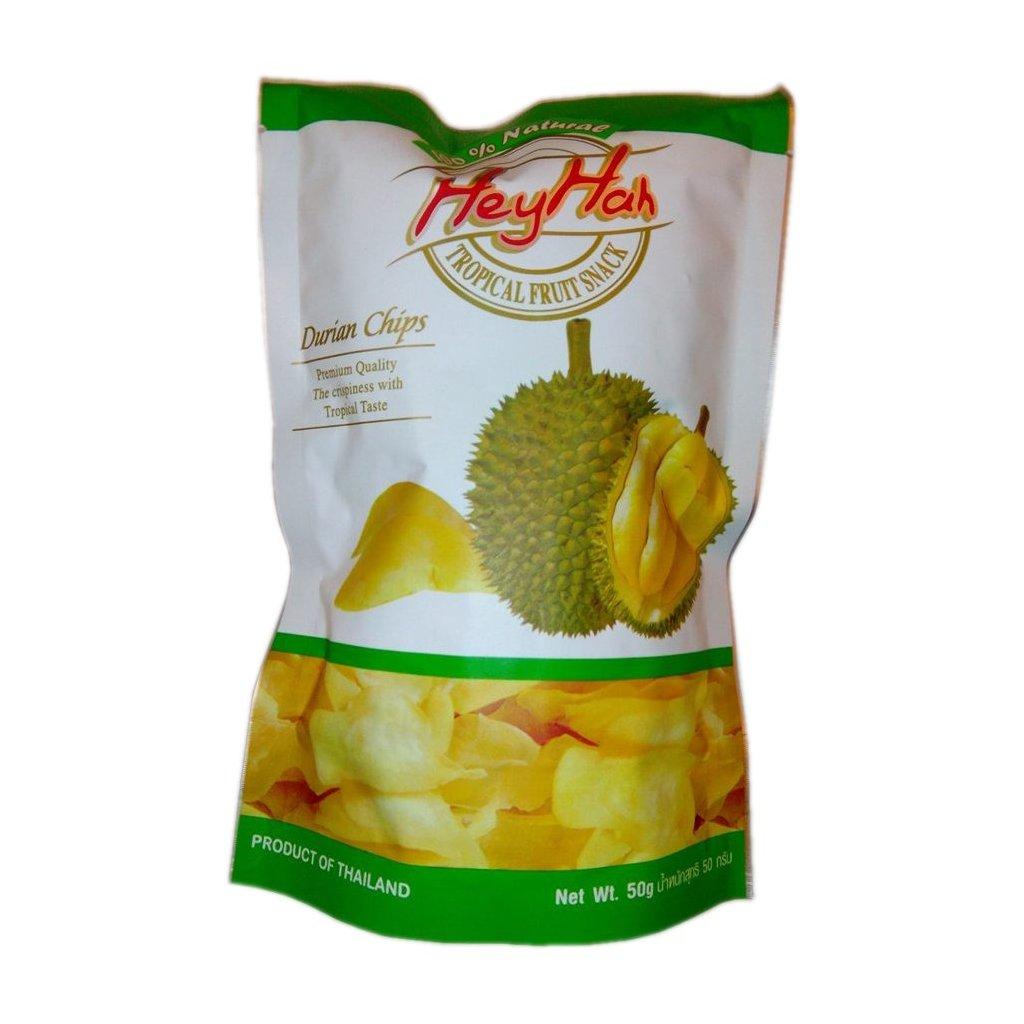 Lehce solené chipsy z durianu 50g
