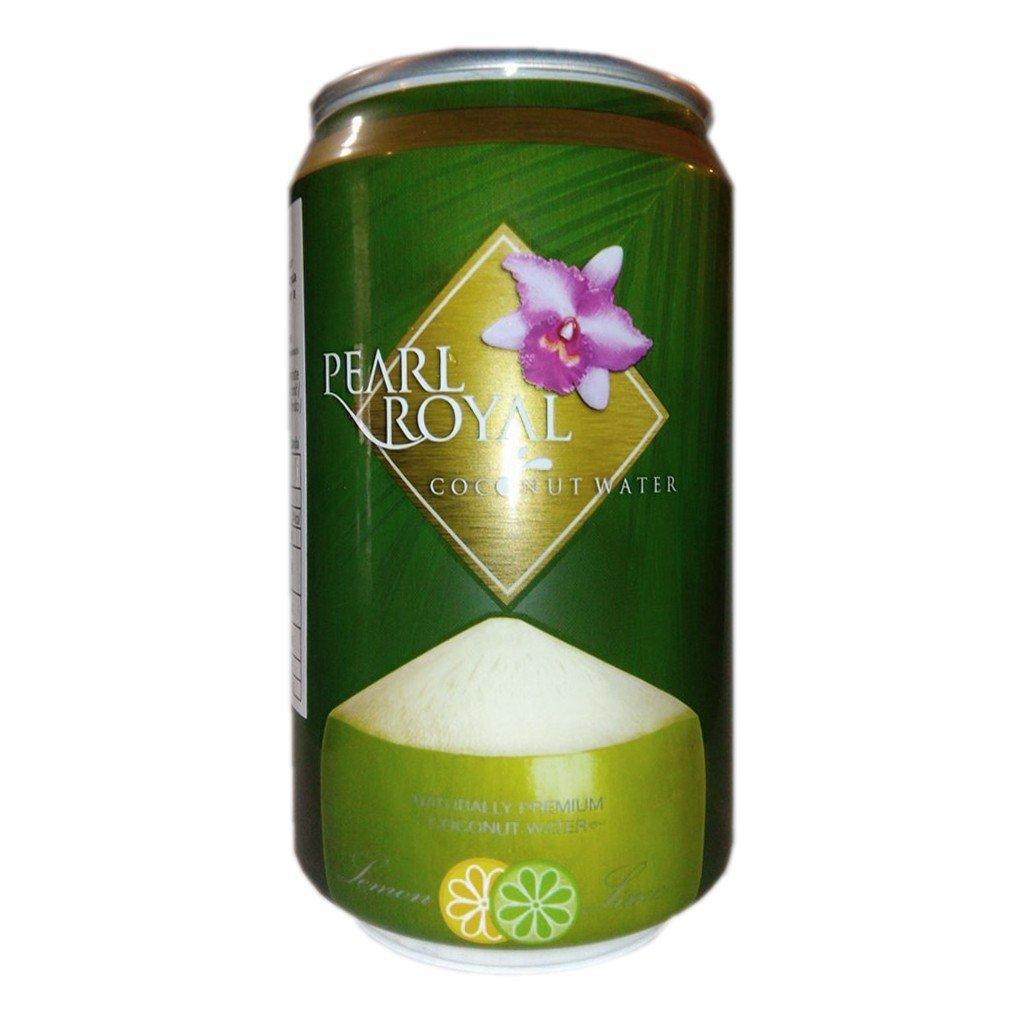 Kokosová šťáva bez cukru s limetkou a citronem 310ml