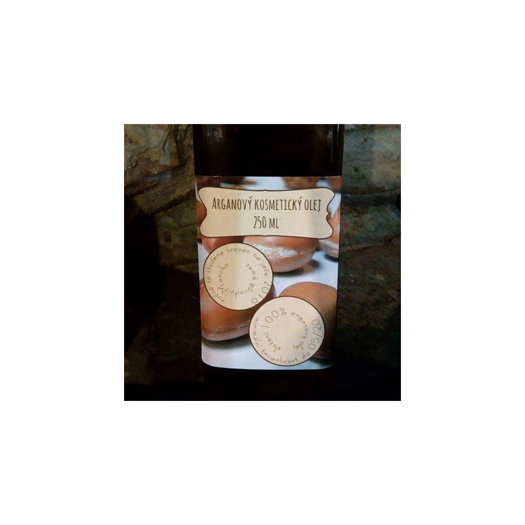 Čerstvý arganový olej - kosmetický 250ml