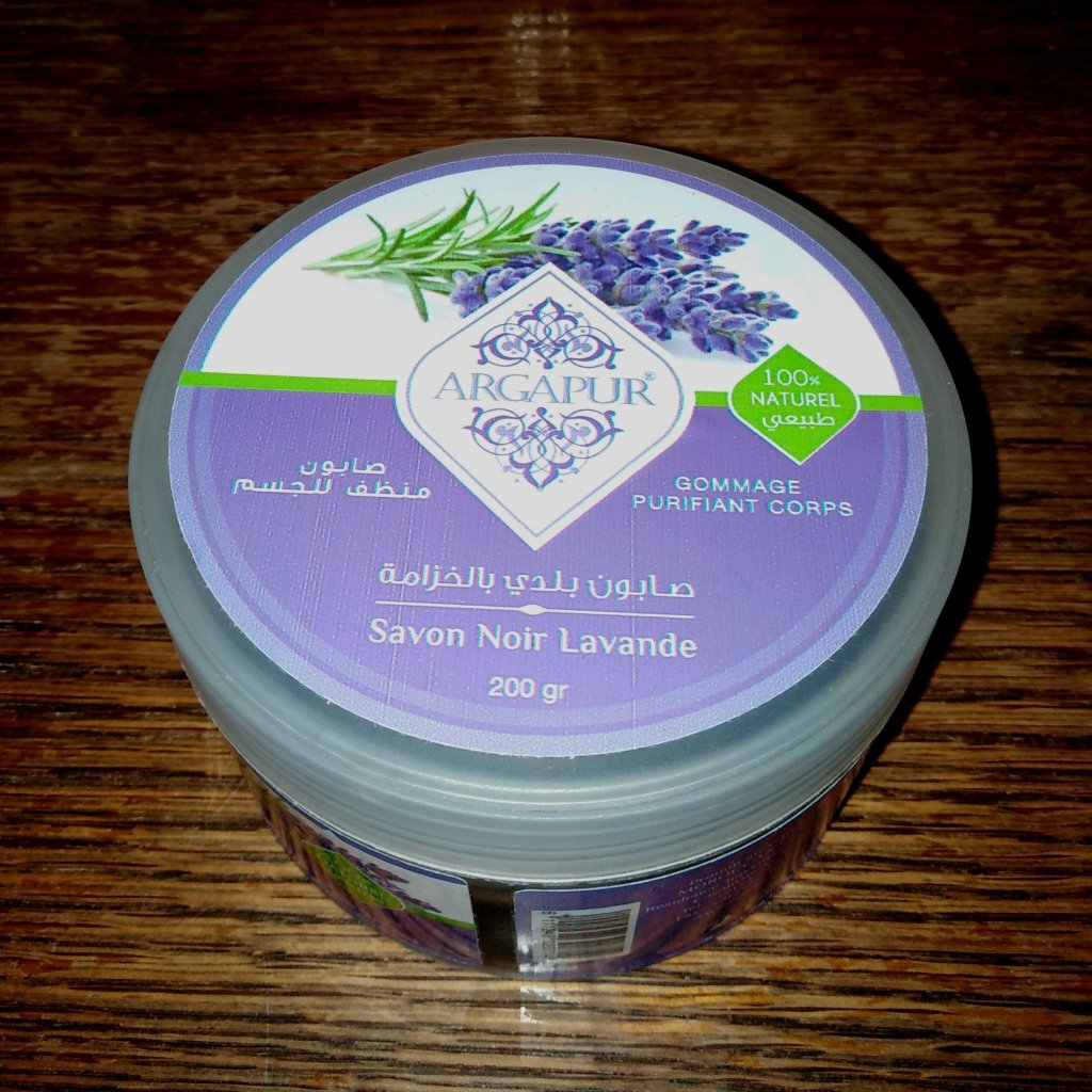 Čistící gelové mýdlo pro obličej a tělo - levandule 200g