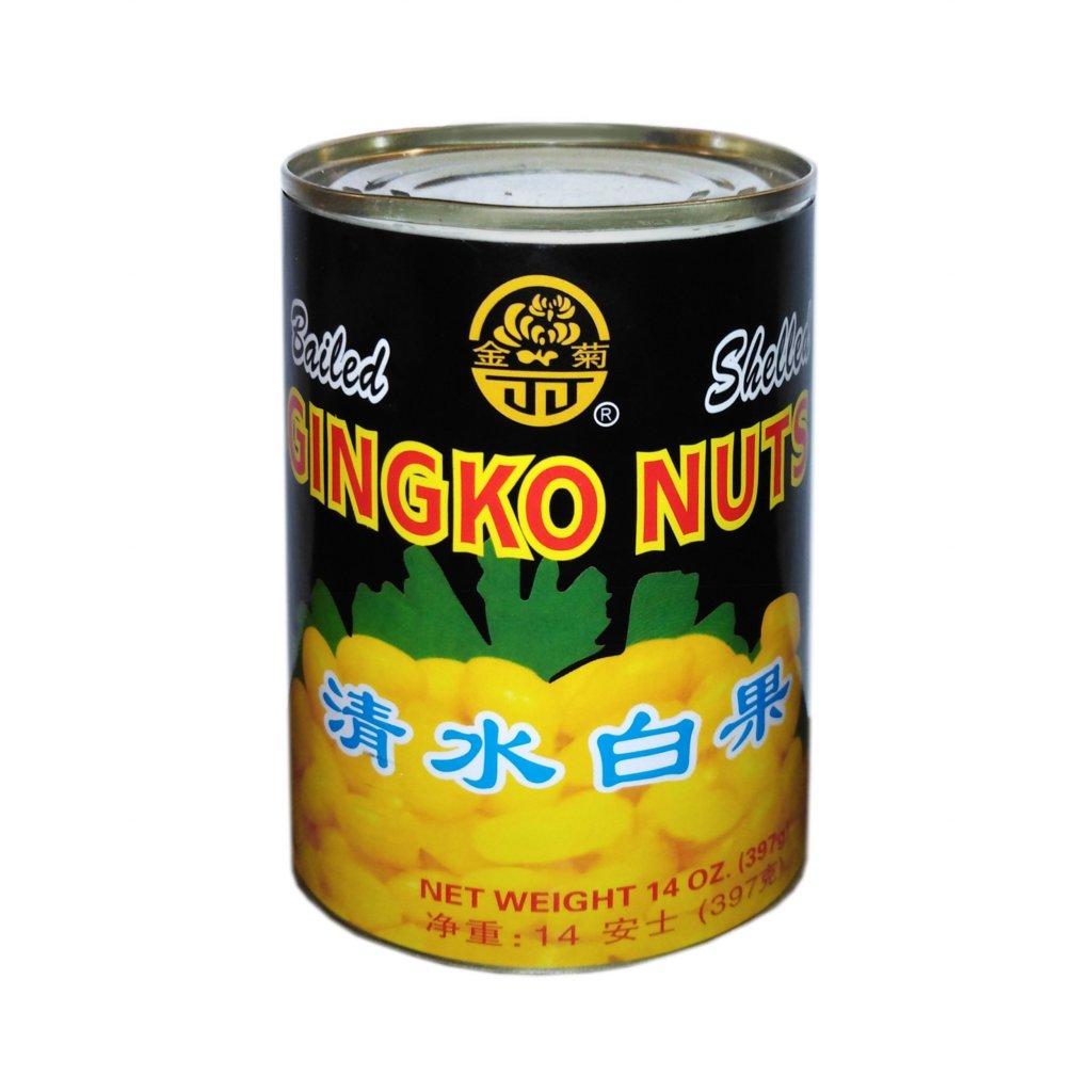Předvařená semena jinanu - ginkgo 397g (z toho semena 200g)