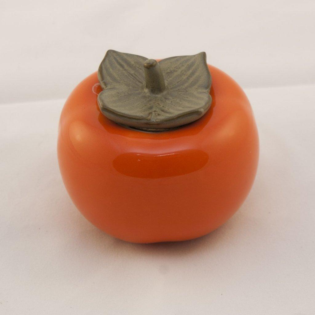 Tomelka - dózička na čaj v podobě ovoce Kaki Churma