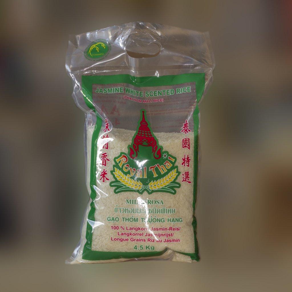 Rýže jasmínová dlouhozrnná 4,5kg