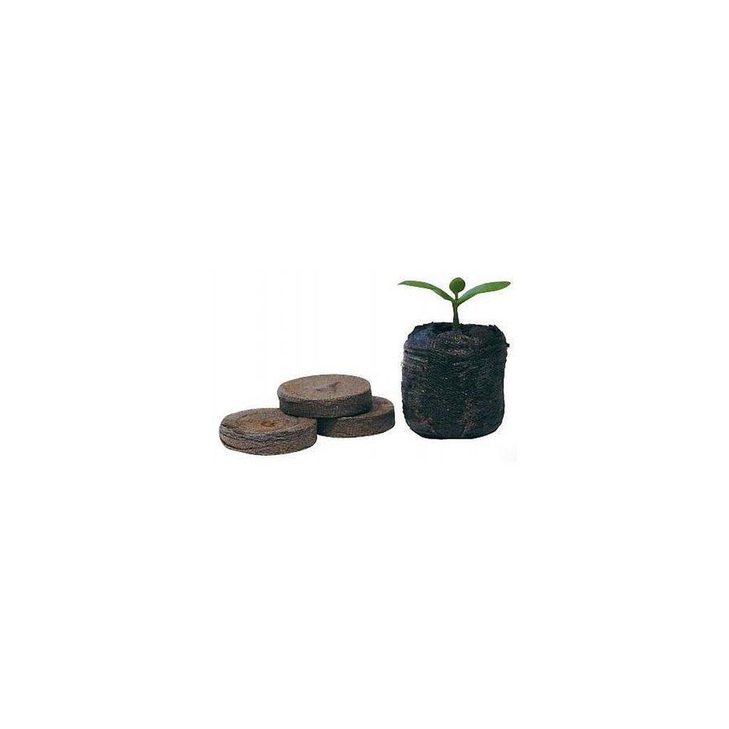 Jiffy - sadbovací tablety, rašelinové tablety, průměr 33 mm, 10 ks