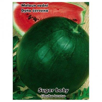 Meloun vodní Sugar Baby - semena melounu 0,5 g, 15 ks