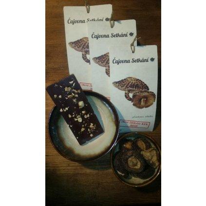 Houbová čokoláda s Shiitake 50g