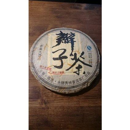 Copánkový zelený  Pu Erh z Velké Sněžné Hory 2011 - 50g (zlomek koláče)