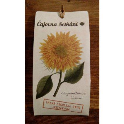 Čokoláda chryzantéma - 50g
