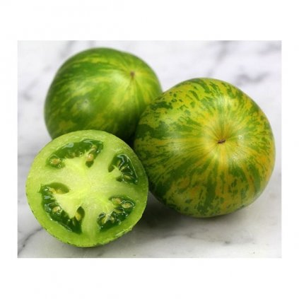 Rajče tyčkové zelené Green Zebra - semena rajčat 10 ks