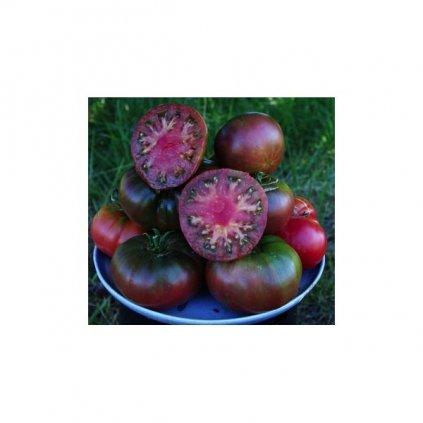 Rajče tyčkové černé Black Krim - semena rajčat 10 ks