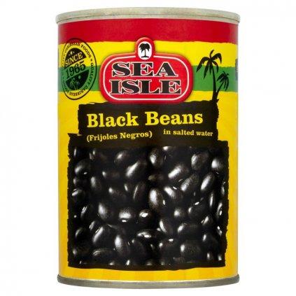 Černé fazole ve slaném nálevu - 400g