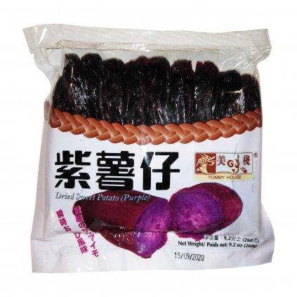Sušené kandované fialové batáty 260g