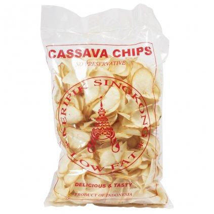 Kassavové chipsy solené 250g
