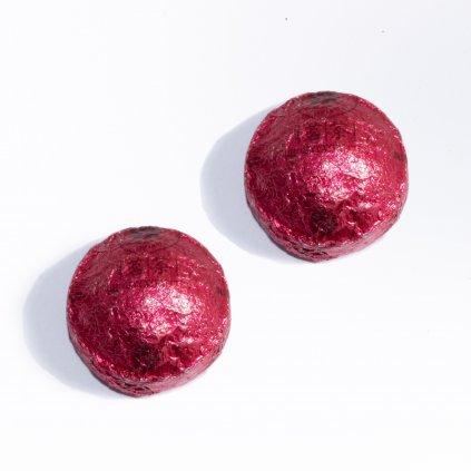 Mini Toucha Shu růžová - s růží 2ks