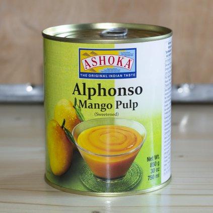 Mangové pyré Ashoka (odrůda Alphonso) 850g