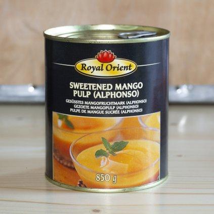 Mangové pyré Royal Orient (odrůda Alphonso) 850g