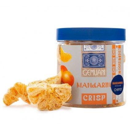 Gemuani chips MANDARINKA sušená mrazem 30g (+-2g)