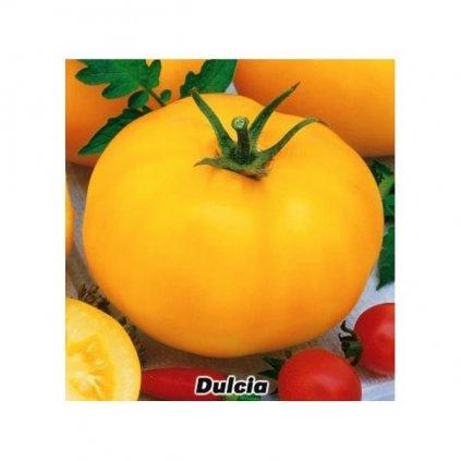 Rajče keříčkové žluté Dulcia - semena rajčat 0,3 g, 100 ks
