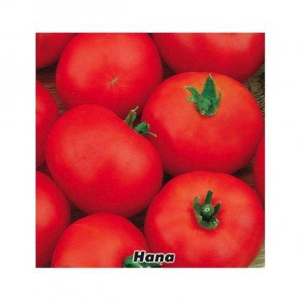 Rajče keříčkové červené Hana - semena rajčat 0,3 g, 100 ks