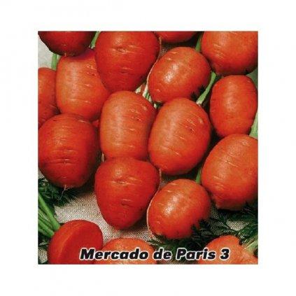 Mrkev raná kulatá Mercado de Paris 3 - semena mrkve 2 g, 1500 ks