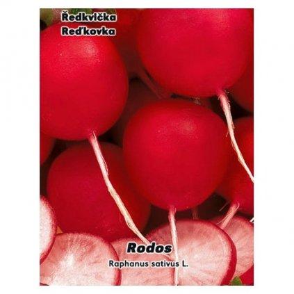 Ředkvička červená - Rodos - semena ředkvičky 4 g, 400 ks