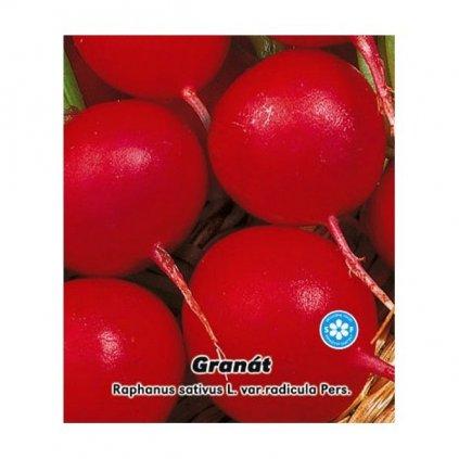 Ředkvička červená kulatá - Granát - semena ředkvičky 4 g, 400 ks
